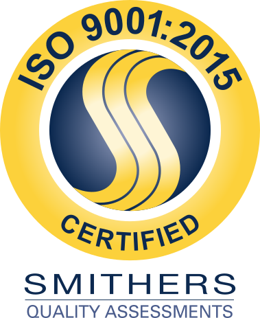 Smithers Quality Assessments Certification Badge